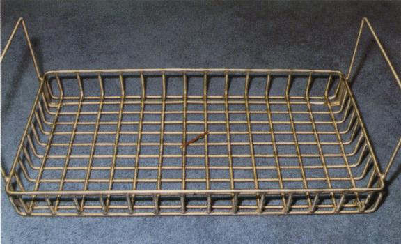 Fabricated heat-treating basket for vacuum furnace application to 2300°F (1260°C)